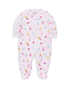 Kissy Kissy - Girls' Ice Cream Footie - Baby